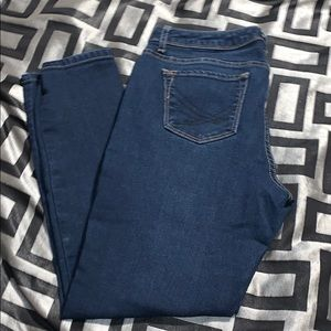 Vera Wang Skinny Ankle jeans